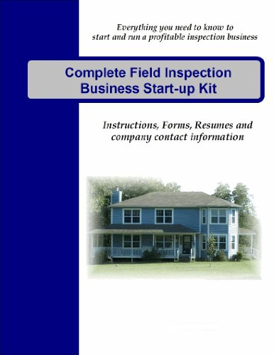 (Complete Field Inspection Business Start-up)