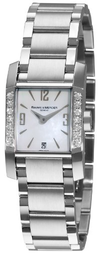 Baume & Mercier Women's 8569 Diamant Diamond Swiss Watch