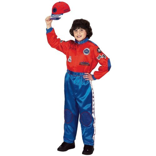 Car Baby Costume Racer (Aeromax Jr. Champion Racing Suit with Embroidered Cap, Size)