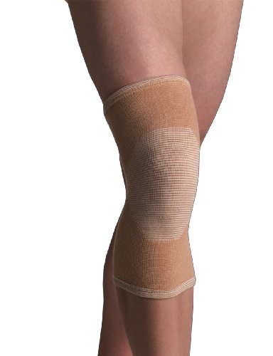 Thermoskin Medicine (Thermoskin 4-Way Elastic Knee Support, Beige, Large)