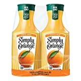 Simply Orange Juice Pulp Free 52 fl. oz, 2 pk. A1