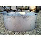 "Stainless Steel Campfire Ring Fire Pit Liner Insert 30"" OD x 14 Deep"