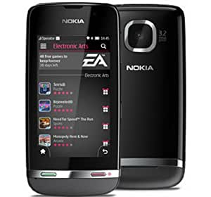 Nokia Asha 311 Gray WiFi Touchscreen Unlocked GSM QuadBand 3G Bar Cell Phone