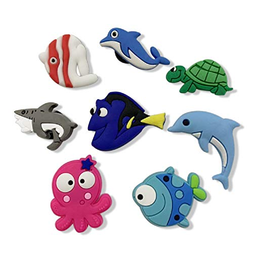 Shoes Charms Shoe Charmers for Croc Shoes & Wristband Bands Bracelet Party Gifts Charm Jibbitz Croc,Turtle, Whale
