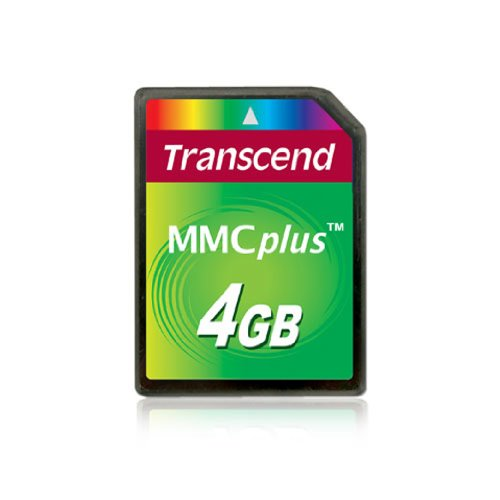 Transcend TS4GMMC4 4GB High Speed Multimedia Card by Transcend