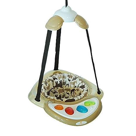 Türhopser Rock´n´Roll einstellbar mit Spielcenter und Musikfunktion (Beige) Moni Trade Ltd.