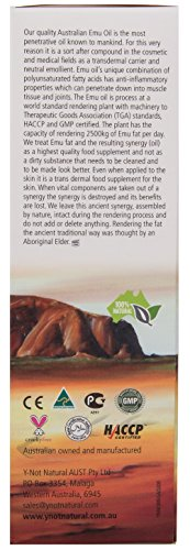 Extra Large Emu Oil | 100% Pure Australian Emu Oil - 6.76 Fl.oz by Y Not Natural (Image #7)