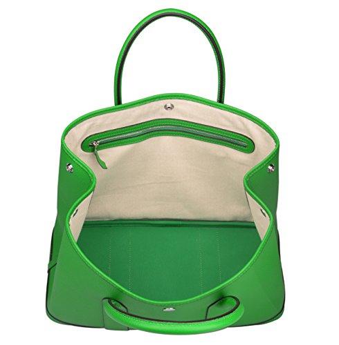 Ainifeel Women s Genuine Leather Tote Bag Top Handle Handbags - Buy ... ebe729fbd6227