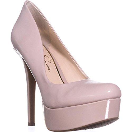 Jessica Simpson Women's Cristabel Wedge Sandal, Black, 7.5 Medium US JS-CRISTABEL