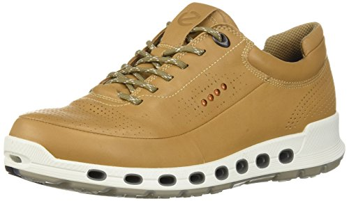 Ecco Mens Cool 2.0 In Pelle Gore-tex Fashion Sneaker In Pelle Di Noce