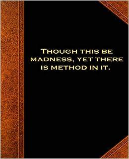 Amazon.com: Shakespeare Quote Madness Method School ...