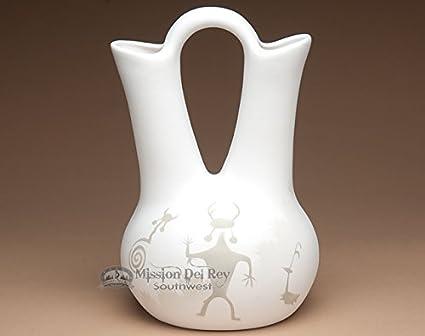 Amazon Mission Del Rey Native American Navajo Wedding Vase 125