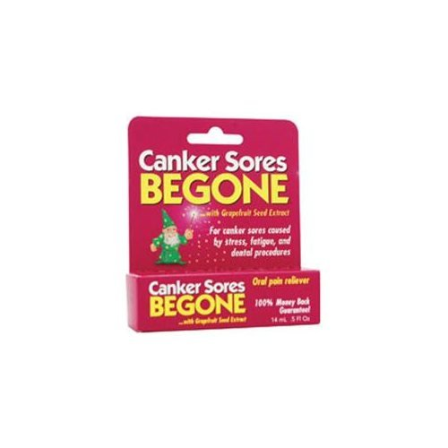 Cold Sores Be Gone Canker Sores Begone, 0.15 Ounce