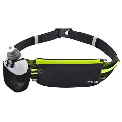 iTECHOR Sports Running Belt Waterproof Adjustable Band Fi...