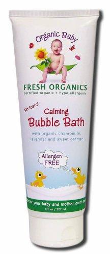 Organic Baby Calming Bath Bubble 8 OZ