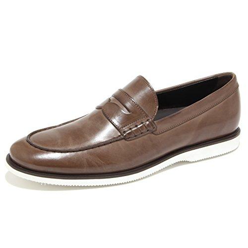 0273N mocassino HOGAN scarpe uomo loafer shoes man tabacco Tabacco