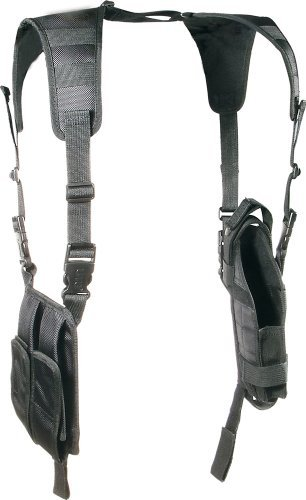 Leapers Utg Web (UTG LE Grade Vertical Shoulder Holster, Black)
