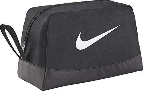 Nike Club Team Swoosh Toiletry Bag Bag, 27 cm, Black (White)