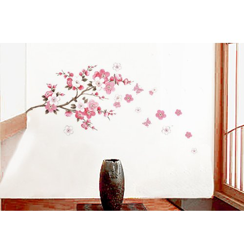 Blossom Butterfly Decorative Nursery Sticker
