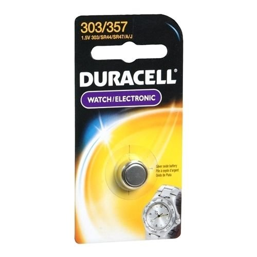 Duracell Silver Oxide Battery Watch/Electronic 1.5 Volt 303/357 1 EA - Buy Packs and SAVE (Pack of -