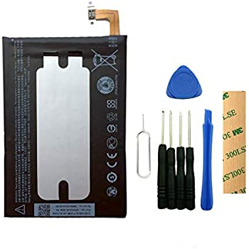 for Verizon HTC One M9 Replacement Battery B0PGE100 Free Adhesive Tool