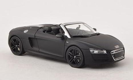 Audi R8 Coupe 2019 1:36 Die Cast Modellauto Spielzeug Model Sammlung Schwarz