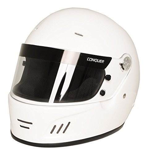 Conquer Snell SA2015 Approved Full Face Auto Racing - Racing Bell