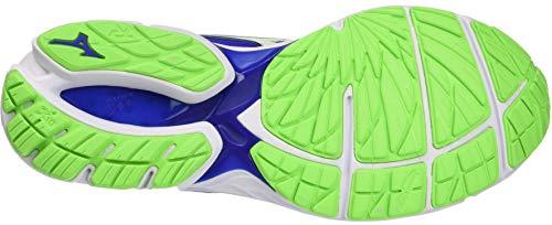 Hombre 16 greengecko Mizuno Para Zapatillas De surftheweb Wave Running 22 Rider white Azul 77gq0