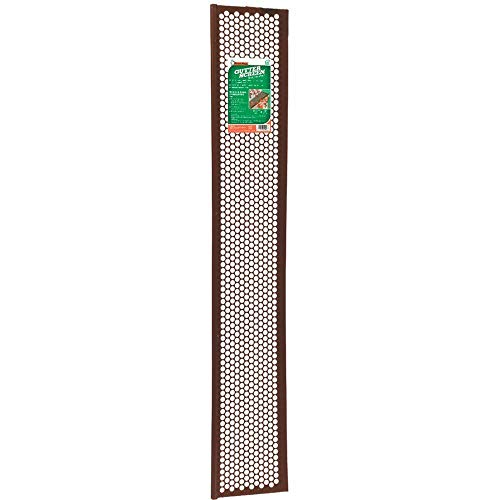 Thermwell Products Co. 3' BRN Gutter Guard G636BR Unit: Each -