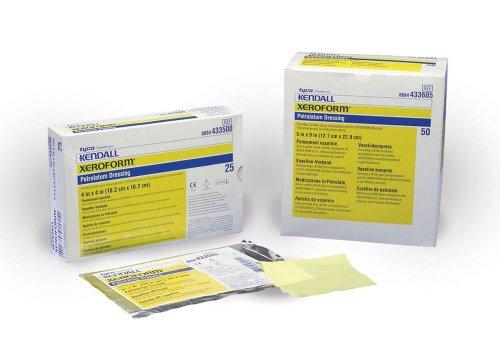 Xeroform Petrolatum Gauze Dressing 4 x 4 - One Case of 150 - Xeroform Petrolatum Gauze Dressing Case
