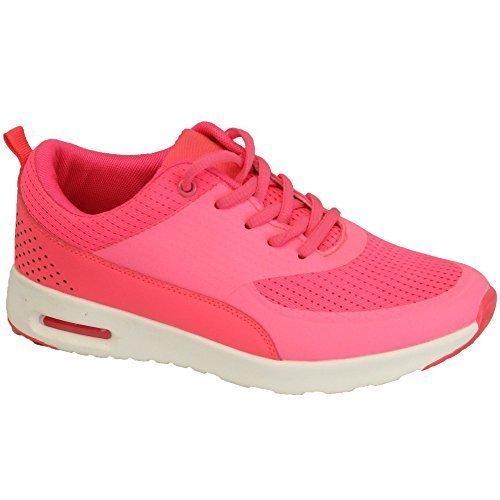 Baskets Sport Maille Neuf Lacet Chaussures Jogging Gym Femmes Décontracté Course PwSFqdqH