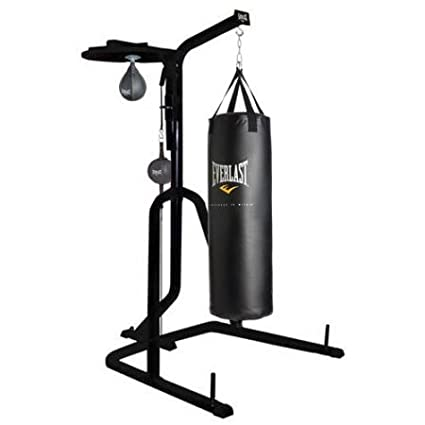 Amazon.com   Three-Station Heavy Duty Punching Bag Stand by Everlast ... f454670e1