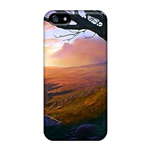 Sanp On Cases Covers Protector For Iphone 5/5s (st Alone At Sunrise)