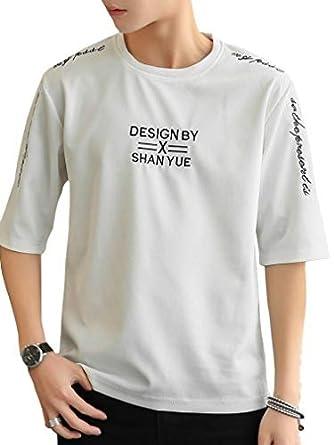 be52998eeb0ae t-Shirt Men s Short Sleeve Cut Sewn Three-Quarter Sleeve Quarter Sleeve  Fashionable Comfortable