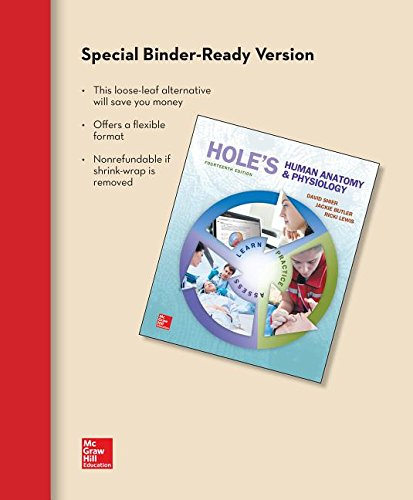 Loose Leaf for Hole's Human Anatomy & Physiology -  Shier, David, 13th Edition, Loose-leaf