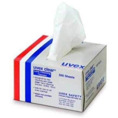 Honeywell S462 Uvex  Clear Lens Cleaning Tissues - Manufacturers Eyeglass Usa