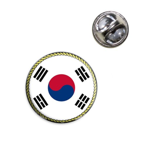Flag of South Korea Lapel Hat Tie Pin Tack ()