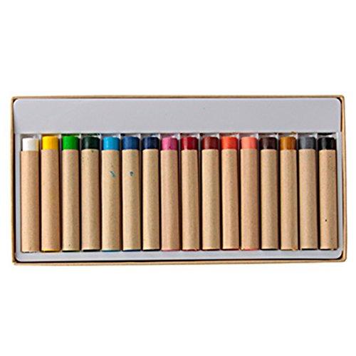 Muji Painted fabric crayons / 16 colors