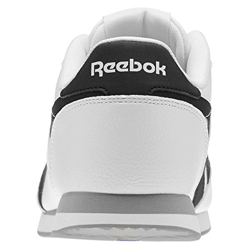 Black Jog Flat Cl Zapatillas White Deporte Grey 2L de Reebok Hombre Multicolor Royal wFvqgg