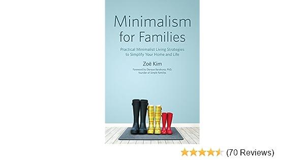 Amazon minimalism for families practical minimalist living