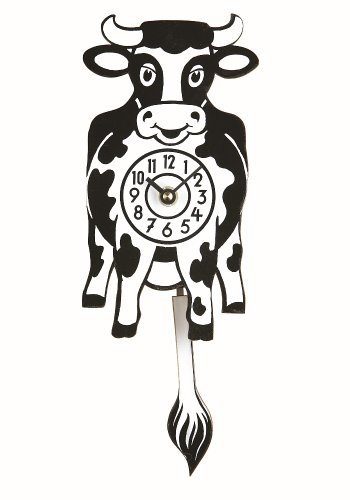 Clock for childeren, the cow