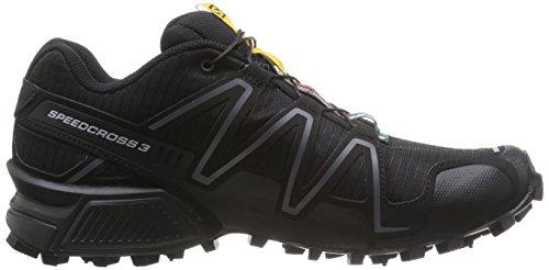 SalomonSpeedcross 3 - Zapatillas de Running para Asfalto Mujer Negro - Schwarz (Black/Black/Silver  Metallic-X)