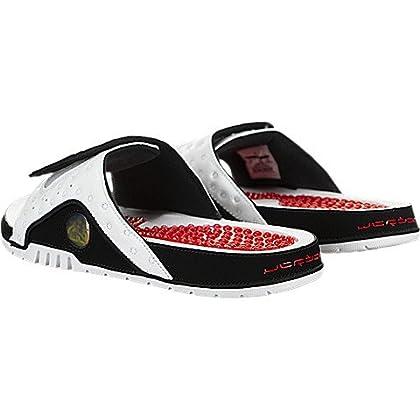 bec4750a3a8c3c ... Jordan Nike Men s Hydro XIII Retro Slide White 684915-106 (Size  11) ...