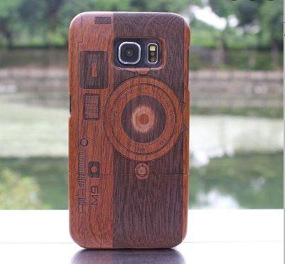super popular e0084 23ebe Galaxy S7 Edge case, S7 Edge Wooden Case Wood Case: Amazon.co.uk ...