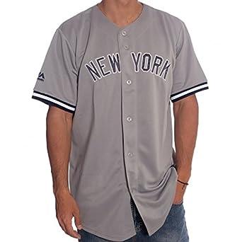 92cf5876ade6c Majestic Camisa MLB New York Yankees GR  Amazon.es  Ropa y accesorios