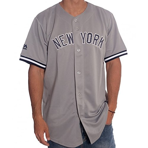 Sudadera Majestic  New York Yankees MLB Hextal Mix Fabric Crew NV. Majestic  ... 0d6e722d2dd
