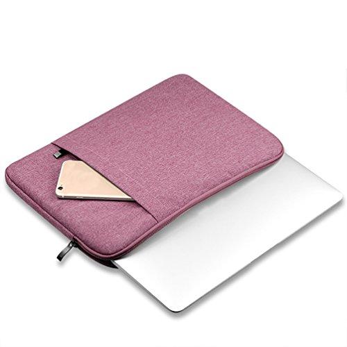 YiJee Funda Protectora Antigolpes Ordenador Bolso para Portátil Laptop Tableta 11 Pulgada Rose