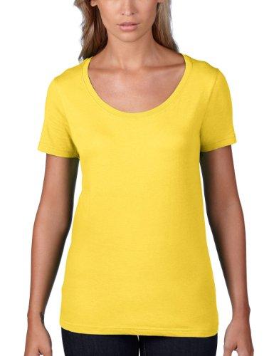 Zest Giallo corta Yellow Anvil Maglietta Manica Lemon Donna cT0AwcRZUq