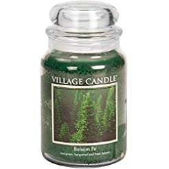 Village Candle Balsam Fir 26 oz Glass Ja...