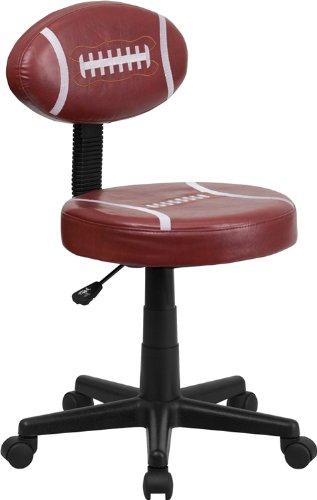 ComfortScape CS-FF-BT-6181-FOOT-GG Football Task Chair Kids Sport by ComfortScape